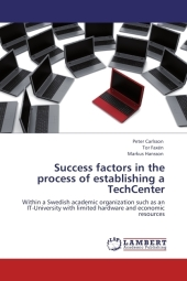 Success factors in the process of establishing a TechCenter - Peter Carlsson