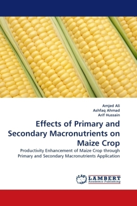 Effects of Primary and Secondary Macronutrients on Maize Crop - Productivity Enhancement of Maize Crop through Primary and Secondary Macronutrients Application - Ali, Amjed / Ahmad, Ashfaq / Hussain, Arif