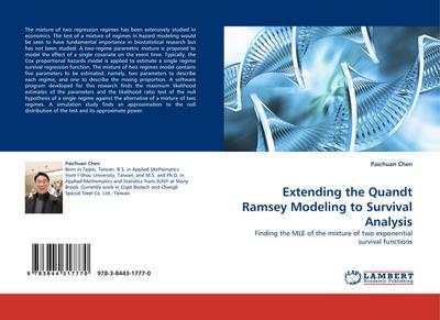 Extending the Quandt Ramsey Modeling to Survival Analysis - Paichuan Chen