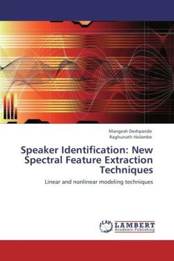 Speaker Identification: New Spectral Feature Extraction Techniques