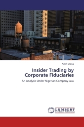 Insider Trading by Corporate Fiduciaries - Adefi Olong