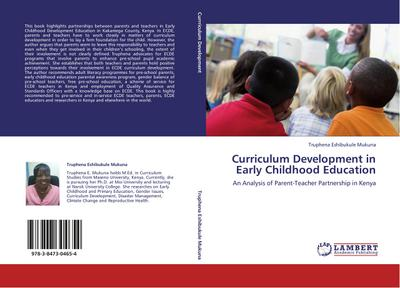 Curriculum Development in Early Childhood Education - Truphena Eshibukule Mukuna