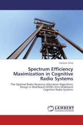 Spectrum Efficiency Maximization in Cognitive Radio Systems - Liaoyuan Zeng