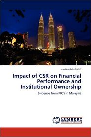 Impact Of Csr On Financial Performance And Institutional Ownership - Mustaruddin Saleh