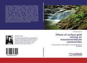 Avlyush, Saulyegul: Effects of surface gold mining on macroinvertebrate communities