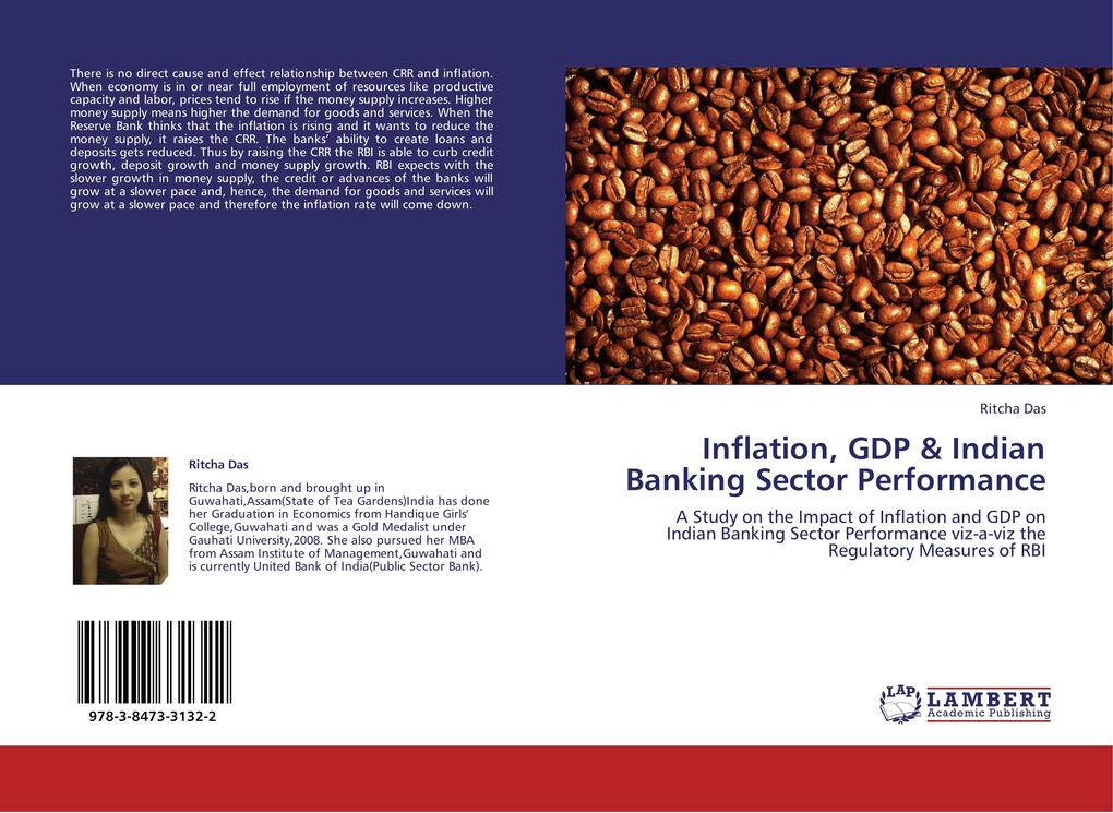 Inflation, GDP & Indian Banking Sector Performance als Buch von Ritcha Das - LAP Lambert Academic Publishing