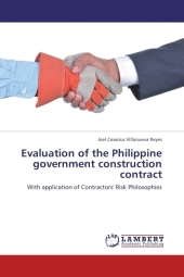 Evaluation of the Philippine government construction contract - Joel Cesarius Villanueva Reyes
