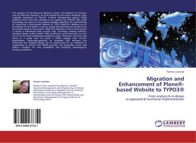 Migration and Enhancement of Plone-based Website to TYPO3 - Teemu Luomala