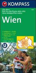 Pianta della città n. 429. Austria. Vienna-Wien 1:15.000