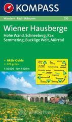 Carta escursionistica n. 210. Austria. Ad est delle Alpi. Vienna, Stiria... Wiener Hausberge, Schneeberg, Rax, Semmering 1:50.000. Adatto a GPS. DVD-ROM digital map