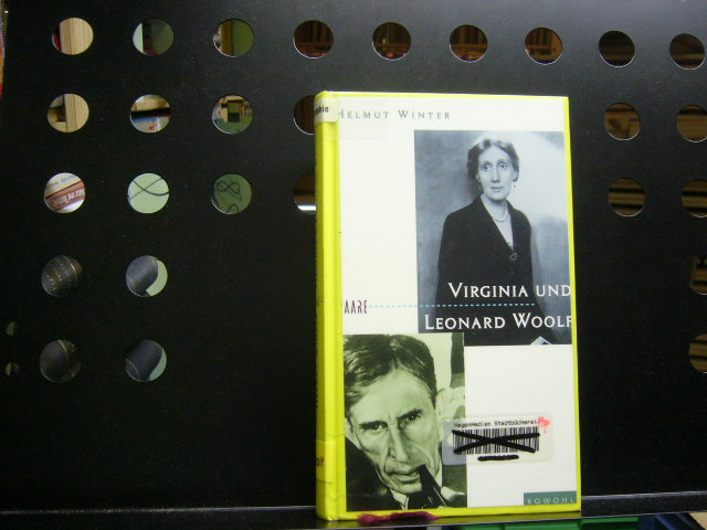 Virginia und Leonard Woolf - Winter, Helmut