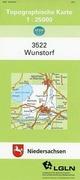 Wunstorf 1 : 25 000. (TK 3522 N)