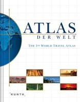 Grosser Atlas der Welt: The 1st World Travel Atlas
