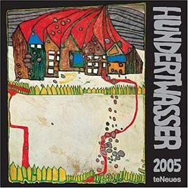 Friedensreich Hundertwasser Art 2005 Calendar - Unknown