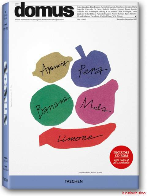 domus 1995 - 1999 - Band XII: Die letzten Jahre des 20. Jahrhunderts MIT CD  The Best from the Seminal Architecture and Design Journal (1928-1999) in 12 Bänden - Charlotte J. Fiell, Peter M. Fiell