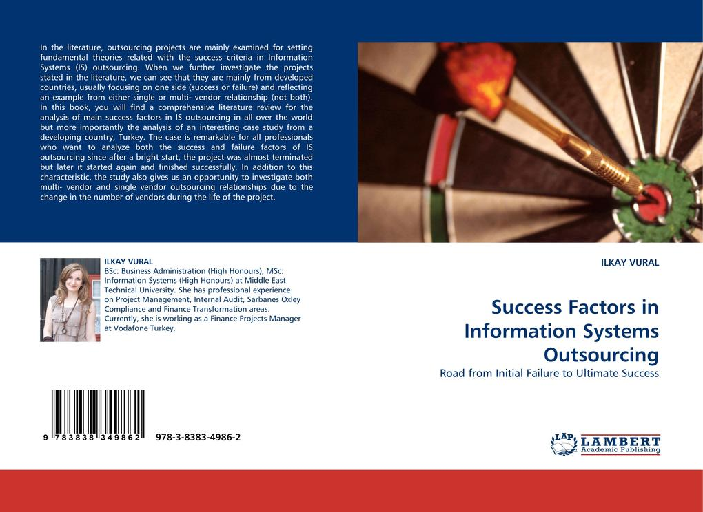 Success Factors in Information Systems Outsourcing als Buch von ILKAY VURAL - ILKAY VURAL