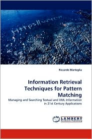 Information Retrieval Techniques For Pattern Matching
