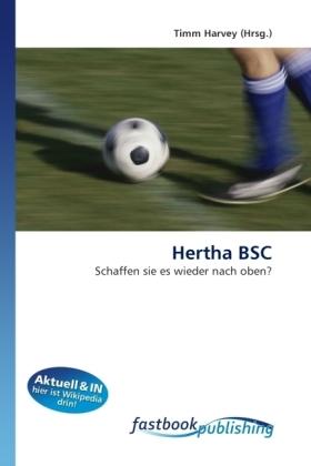 Hertha BSC - Schaffen sie es wieder nach oben? - Harvey, Timm