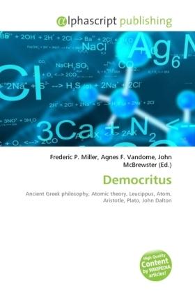 Democritus - Miller, Frederic P. (Hrsg.) / Vandome, Agnes F. (Hrsg.) / McBrewster, John (Hrsg.)