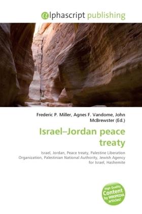 Israel Jordan peace treaty