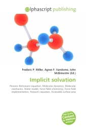 Implicit solvation - Frederic P. Miller