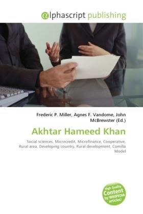 Akhtar Hameed Khan
