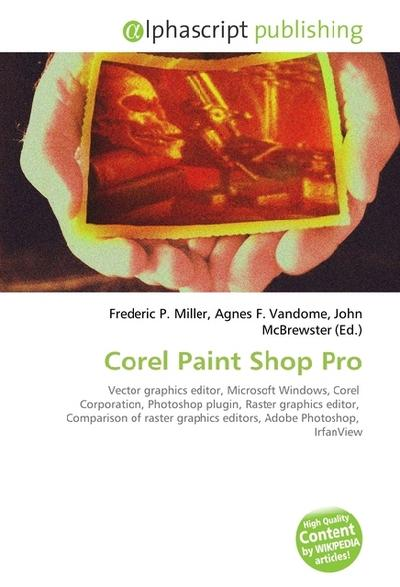 Corel Paint Shop Pro - Frederic P. Miller