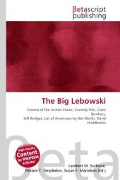 The Big Lebowski - Lambert M. Surhone