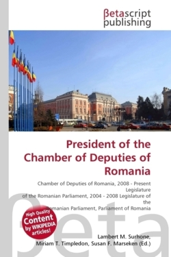 President of the Chamber of Deputies of Romania