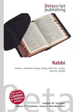 Rabbi: Judaism, Abraham-Geiger-Kolleg, Beth Din, Clergy, Hebrew College