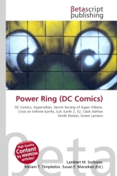 Power Ring (DC Comics) - Lambert M. Surhone