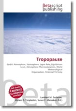 Tropopause: Earth's Atmosphere, Stratosphere, Lapse Rate, Equilibrium Level, Atmospheric Thermodynamics, World Meteorological Organization, Potential Vorticity