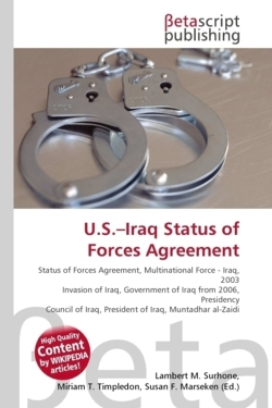 U.S.-Iraq Status of Forces Agreement