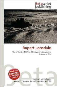 Rupert Lonsdale - Lambert M. Surhone, Miriam T. Timpledon, Susan F. Marseken