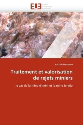 Traitement et valorisation de rejets miniers - le cas de la mine d'Imini et la mine Jerada - Darmane, Yassine