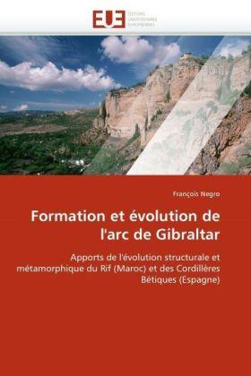 Formation et évolution de l'arc de Gibraltar - Apports de l'évolution structurale et métamorphique du Rif (Maroc) et des Cordillères Bétiques (Espagne) - Negro, François