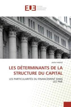 LES DÉTERMINANTS DE LA STRUCTURE DU CAPITAL