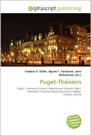 Puget-Th Niers - Frederic P. Miller (Editor), Agnes F. Vandome (Editor), John McBrewster (Editor)