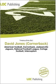 David Jones (Cornerback) - Timoteus Elmo (Editor)