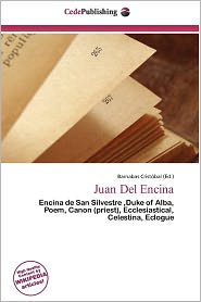 Juan Del Encina - Barnabas Crist Bal (Editor)