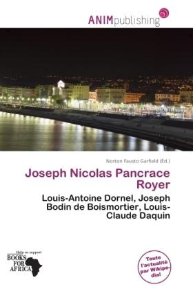Joseph Nicolas Pancrace Royer - Louis-Antoine Dornel, Joseph Bodin de Boismortier, Louis-Claude Daquin - Garfield, Norton Fausto (Hrsg.)