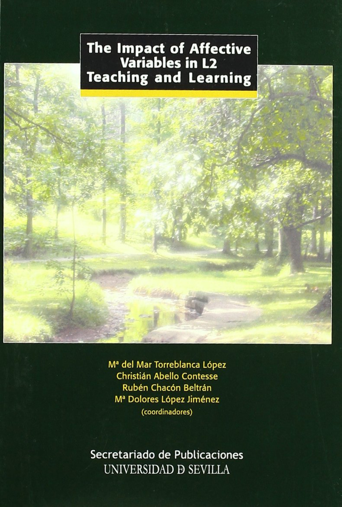 The impact of affective variables in l2 teaching and learnin - Chacon Beltran, Ruben