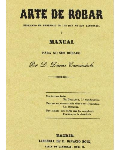 Arte de robar manual para no ser robado - Maxtor France