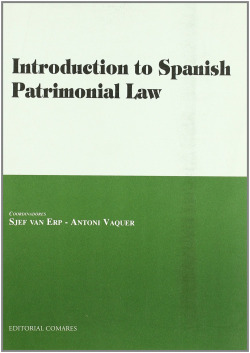 Introduction to spanish patrimonial law - Van Erp, Sjef