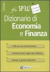 Dizionario di economia e finanza - Tabacchi Carlo