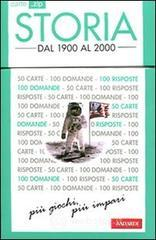 Storia. Dal 1900 al 2000. 50 carte