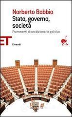 Stato, governo, società - Bobbio Norberto
