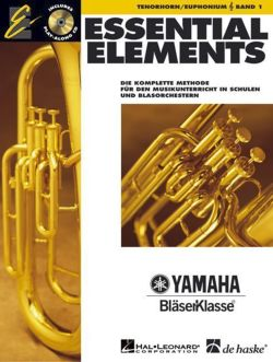 Essential Elements, für Tenorhorn/Euphonium in B (TC), m. Audio-CD
