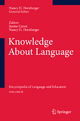 Knowledge About Language - Jasone Cenoz; Nancy H. Hornberger