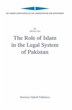 The Role of Islam in the Legal System of Pakistan - Lau, Martin